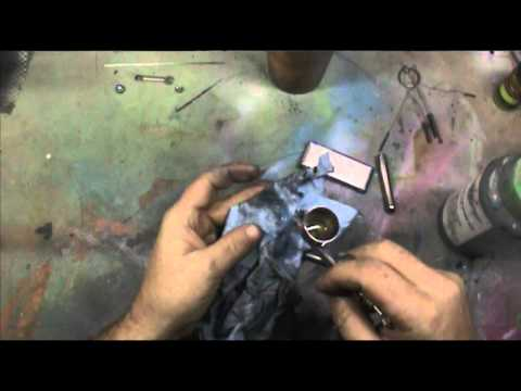 Complete cleaning of an airbrush