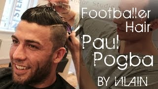 Faux hawk like Paul Pogba and Cristiano Ronaldo - By VIlain Gold Digger