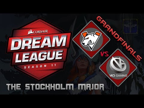 Virtus.Pro vs Vici Gaming / Grand Finals / Bo5 / DreamLeague Season 11 Stockholm Major / Dota 2 Live