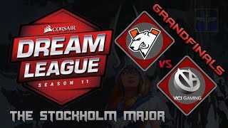 Virtus.Pro vs Vici Gaming / Grand Finals / Bo5 / DreamLeague Season 11 Stockholm Major / Dota 2 Live