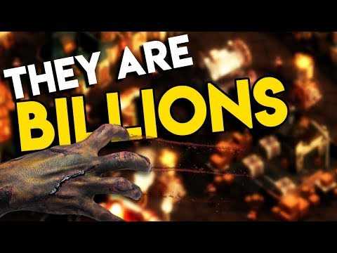 HOLDING BACK THE HORDE | They Are Billions Gameplay Let's Play #1