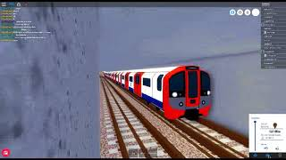 ROBLOX:Mind the Gap, Victor Line (Beauford Road-Airport) Driver View Part 2
