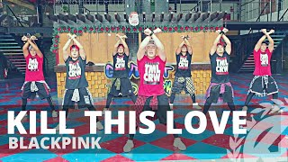 KILL THIS LOVE by Blackpink | Zumba | KPop | TML Crew Fritz Tibay