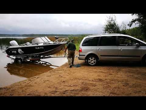 спуск лодки волжанка
