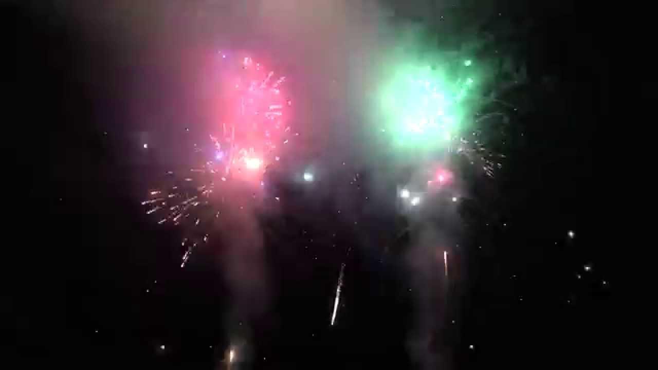 backyard fireworks show 2015 youtube