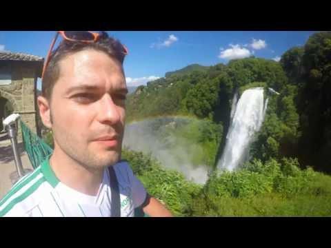UMBRIA  [fonti del clitunno - Spoleto - cascate delle marmore] Super vlog
