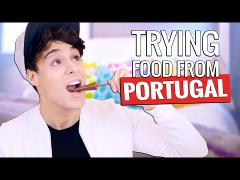 Trying Portuguese Food