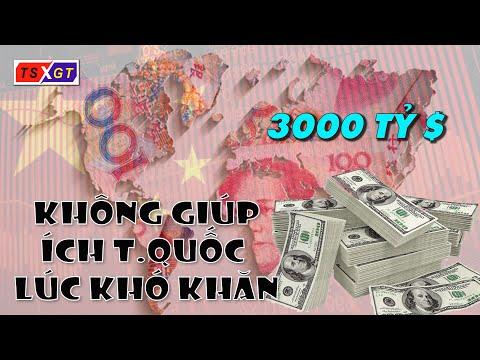 3000 Tỷ USD Không Giúp ích Gì Nhiều Trung Quốc Trong Lúc Khó Khăn!
