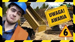 AWARIA NA BUDOWIE! - SYMULATOR BUDOWLAŃCA: Construction Machines Simulator 2016 (#6)
