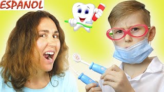 Dentist Song Spanish Version #2 - Spanish Nursery Rhyme (Canciones Infantiles)