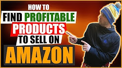 How To Find Profitable Products To Sell On Amazon (Dropshipping)