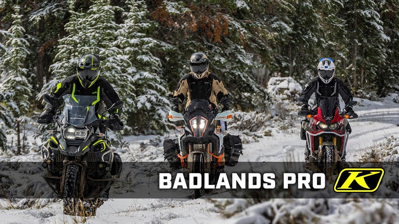 Klim Pro Veste Moto Badlands Noir luTFc3K1J