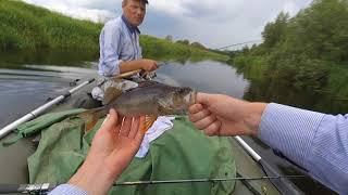 Рыбалка с батей на озере Полисто