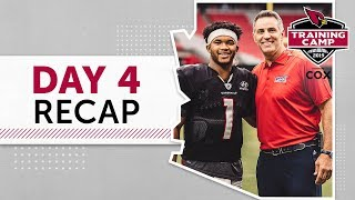 Kurt Warner on Kyler Murray, David Johnson on Season | Arizona Cardinals: Day 4 Recap