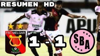 Melgar vs Sport Boys (1-1) Resumen HD Copa Movistar Liga 1