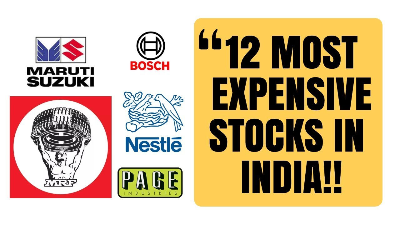 12 Companies with Highest Share Price in India (Updated