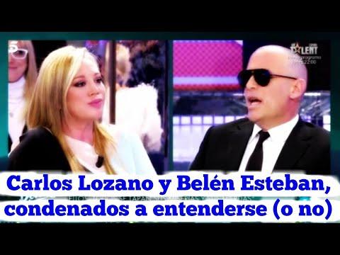 Carlos Lozano y Belén Esteban, condenados a entenderse o no