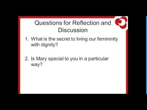 Bodacious! 10 Discussion Starters About The Feminine Genius During The Year Of Faith Webinar