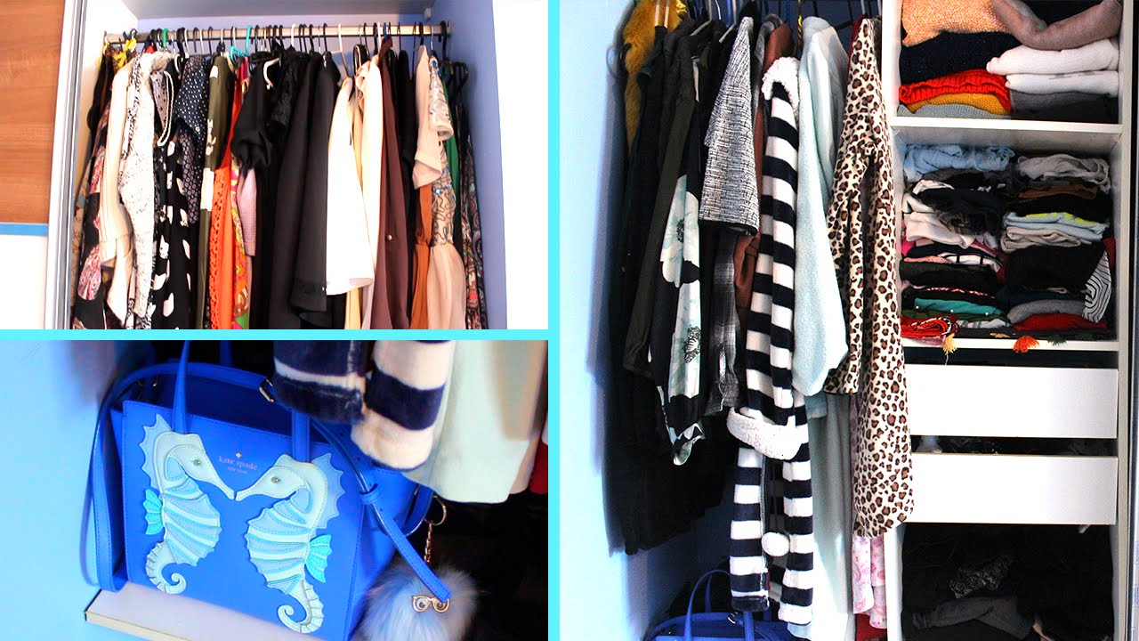 My Wardrobe/Closet tour | SMALL, SIMPLE BUT EFFECTIVE ...