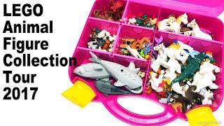 JAYSTEPHER's LEGO Animal Figure Collection Tour