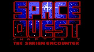 Space Quest (AGI) Playthrough [Tandy]