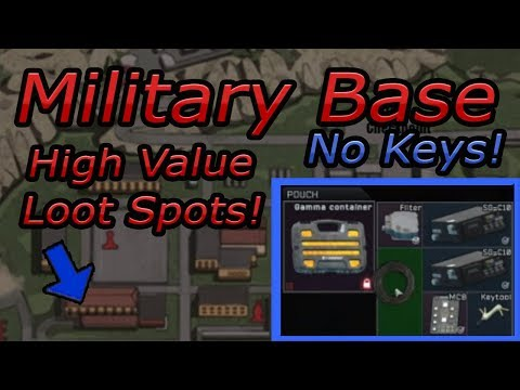 .12 Military Reserve High Value Military Tech Loot Guide + Farming Spots. (No Keys)