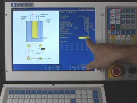 CENTROID CNC Control User Training Video: CNC Millling Machine Training.