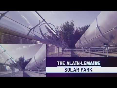 Alain Lemaire Solar Park (Solar Heat for Industrial Processes – SHIP)