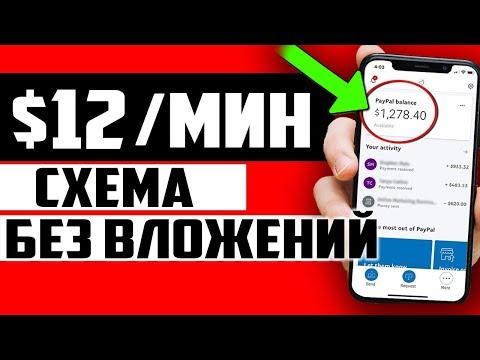 СМОТРЕТЬ ВСЕМ! СУПЕР! ПРОВЕРЕННАЯ СХЕМА ЗАРАБОТКА $12 В МИНУТУ БЕЗ ВЛОЖЕНИЙ 2020