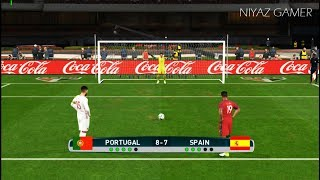 PORTUGAL vs SPAIN | Penalty Shootout | PES 2017 Gameplay