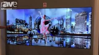 InfoComm 2017: LG Exhibits OLED Video Wall Digital Signage Solution
