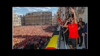Eden Hazard: Did you see what Chelsea ace did during Belgium's World Cup celebrations?