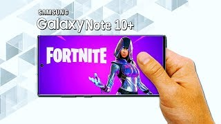 GLOW Skin: Fortnite Mobile - Samsung Galaxy Note 10+ (Android/IOS)