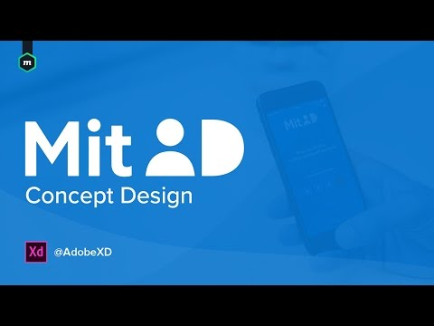 MitID UI Design #AdobeXD