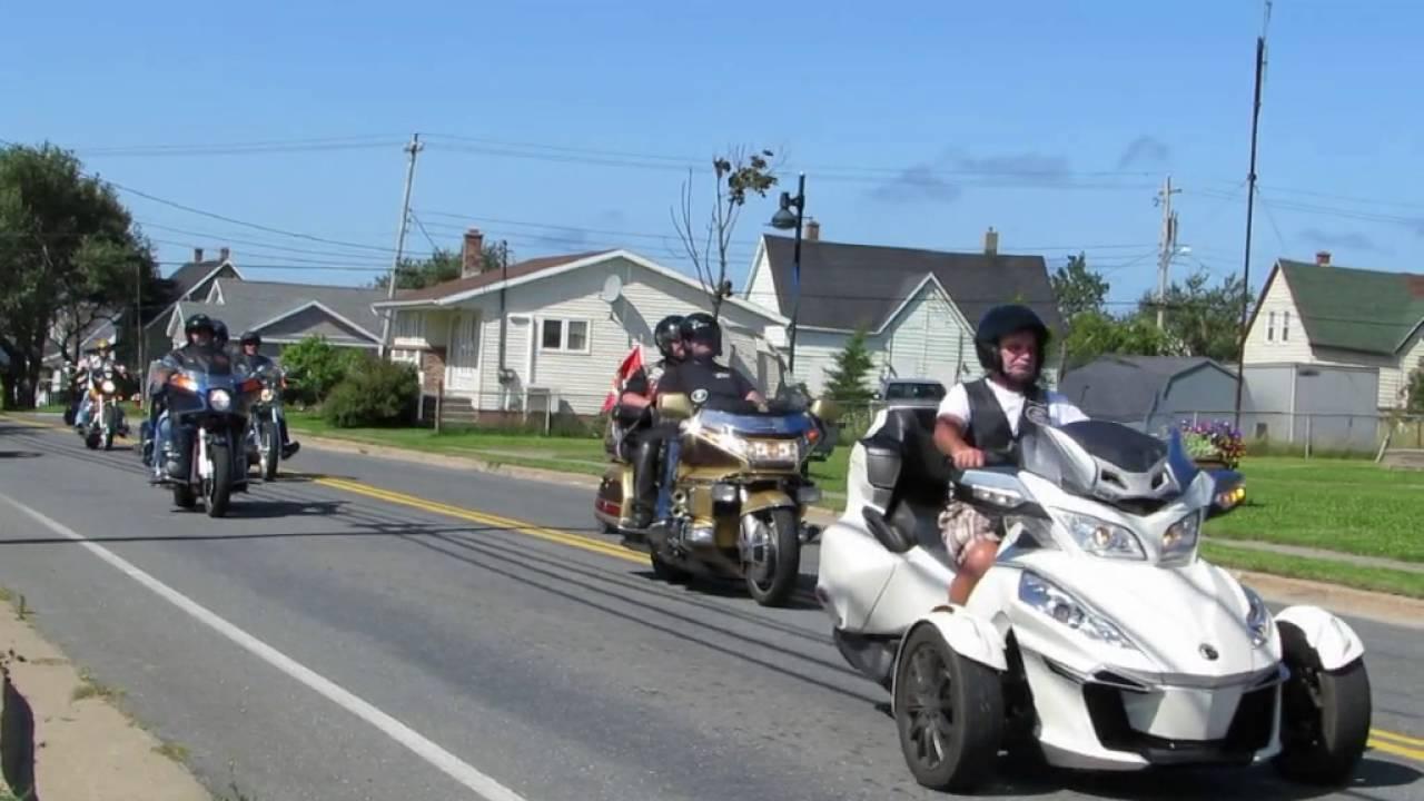 Cape Breton Free Wheelin 30th Annual Toy Run Youtube