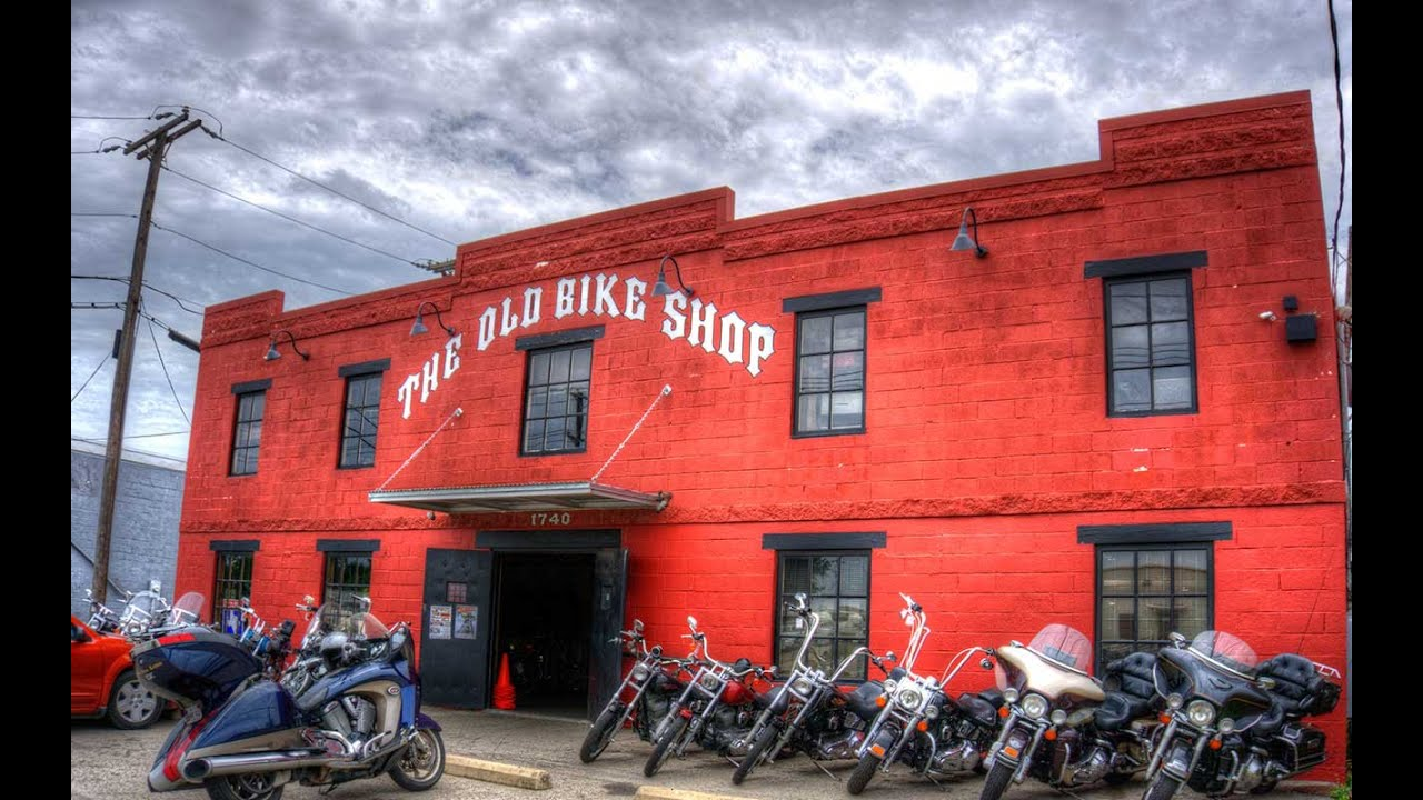 the old bike shop dallas texas youtube. Black Bedroom Furniture Sets. Home Design Ideas