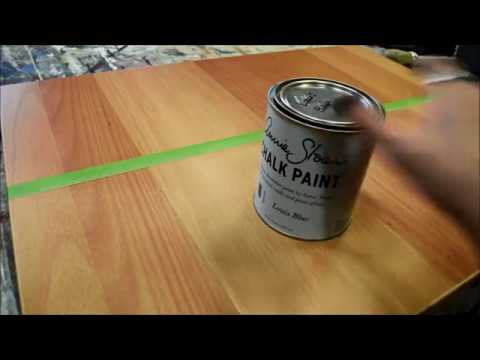 Ikea Birch Credenza : Chalk paint vs ikea furniture youtube