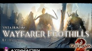 ★ Guild Wars 2 ★ - Vista Hunting - Wayfarer Foothills