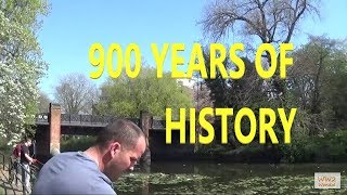 Magnet fishing 900 year old ruins
