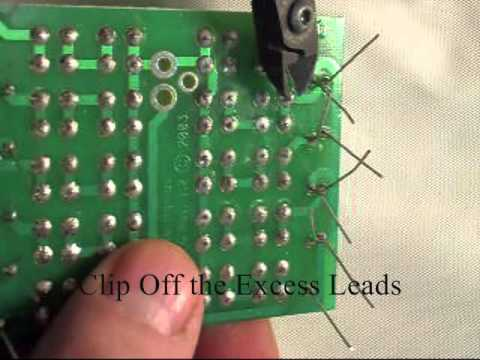 diy do it yourself byo build your own bright led array light 12v dc rh youtube com Circuit Board Fans Circuit Board Fans