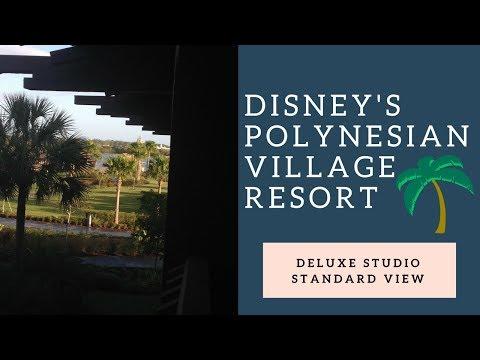 Disney's Polynesian Villas & Bungalows Standard View Studio Tour