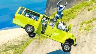 Stig Crash Testing #2 - BeamNG Drive