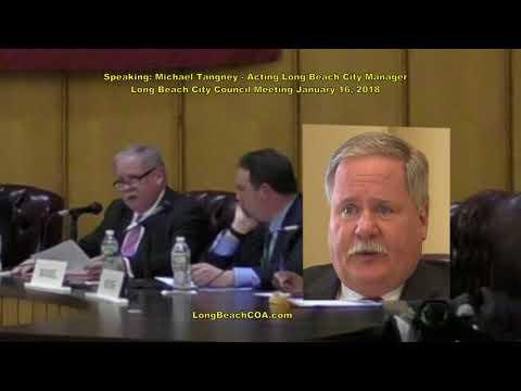 Long Beach City Council City Manager Update 01/16/18