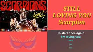 Karaoke Solo STILL LOVING YOU Scorpion May B