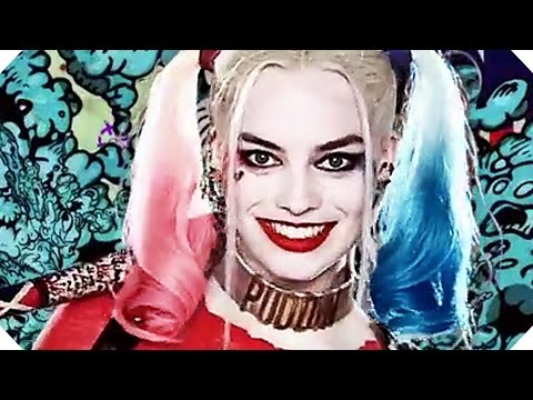 SUICIDE SQUAD Characters TRAILER (2016)