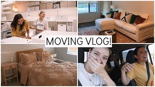 COLLEGE WEEK IN MY LIFE: FINALLY MOVING! | Keaton Milburn