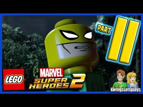 Lego Marvel Super Heroes 2 Walkthrough Part 11 Kun Lun Konundrum (Iron Fist)