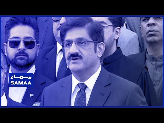 Chief Minister Sindh Murad Ali Shah Media Talk | SAMAA TV | 24 April 2019