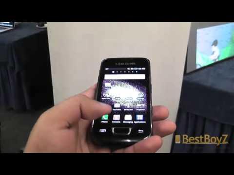 MWC  Hands on Samsung GT I8520 Beam  BoyBestZ