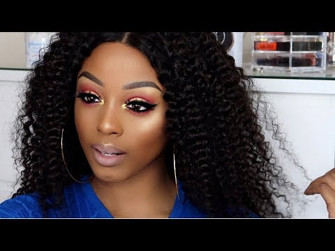 DRUGSTORE MAKEUP TUTORIAL UK - NYX, ELF COSMETICS, BH COSMETICS | NADULA HAIR (ALIEXPRESS) thumbnail